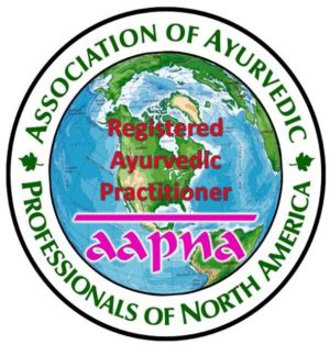 AAPNA Registered Ayurvedic Practitioner